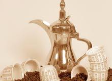 خدمة  قهوجيات وسبابات  قهوة عربي