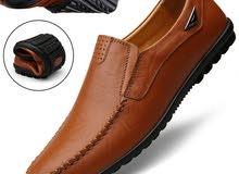 مطلوب احذية جلدية جملة