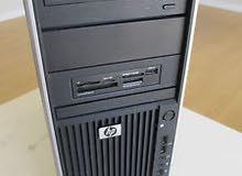 للرندروالالعاب االعاليه//HP WORKSTATION Z400 XEON E5620كاش 12 ميجا