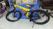 بيع دراجات هوائية متنوع في معارض تبدا الأسعار من 50 الي 65 ريال كل قابلة للطي