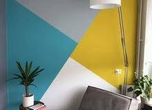 فني دهان وطلاء وتركيب  ورق جدران رقم الجوال 0558170030