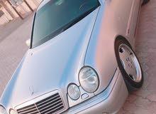 Silver Mercedes Benz E500 1997 for sale