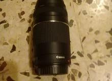 عدسة كاميرا canon 75-300