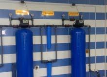 محطة تنقية مياه للبيع على شارع رئيسي بسعر مغري (لعدم التفرغ)