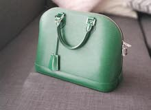 Louis Vuitton alma PM green authentic