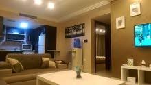 شقة سوبر ديلوكس مساحة 90 م² - في الدوار السابع للايجار مفروشة ط رابع