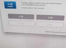 للبيع آي ماك iMac 21-5 inch , Mid 2011 بحاله جيده جدا  المواصفات بالصور المرفقه