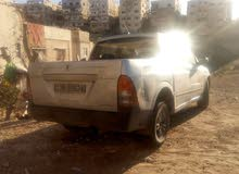 Silver SsangYong Actyon 2008 for sale