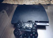 PlayStation 3 500 Gb  العاب GTA V, 2k17, Pes2018, Pes2017, FIFA2018, FIFA2