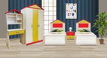 غرفة   شبابية موديل الكوخ