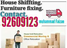 al Muscat movers packing carpentry services