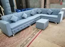 Brand new L shape sofa set ready and customized