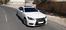 Lexus LS-460L 2014 (White)
