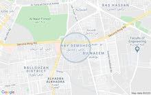 قطعة ارض للبيع في حي دمشق مقسم بوكراع