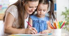 مدربة عيوب نطق وصعوبات تعلم للاطفال