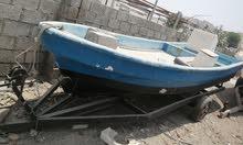 قارب فايبرجلاس 18 قدم للبيع