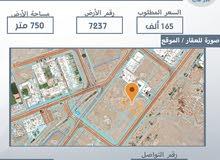 أرض سكنية للبيع في ولاية بوشر المنى