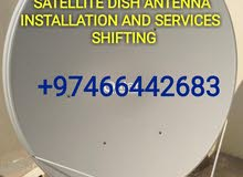 satellite dish installation and service