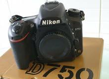 كاميرا نيكون D750 رقمية ذات عدسة أحادية عاكسة