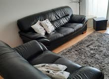 Leather Set of Sofas