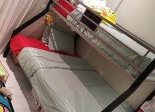 سرير بيبي و سرير دورين، بيت باربي خشب للأطفال ، مطعم خشب للأطفال.