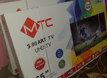 شاشة 65MTC بوصة سمارت UHD-4K جديدة بالكرتون