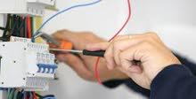 كهربائي فني معماري وصيانة المولدات الكهربائية والمطاعم