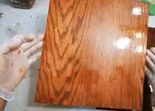 فني طلاء وتلميع أبواب ( خشب + حديد)