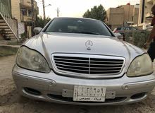 Mercedes Benz S 320 car for sale 1999 in Baghdad city