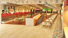 للإيجار  مطاعم بمول كبير في مسقط