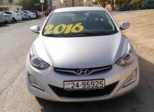 Hyundai Avante 2016 For sale - Silver color