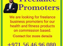 Freelance business promoters