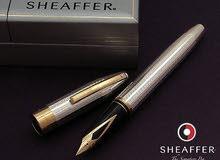 قلم حبر شيفر فضة 925 سلاية ذهب 18 عدد 1
