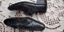 حذاء مقاس 43 جلد جديد