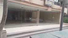 محل تجارى متميز 124م2 واجهة 6.5 خطوة من ش مصطفى النحاس