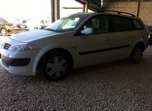 White Renault Megane 2004 for sale