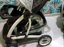 عربة أطفال ماركه جيراكوا الأصلي استعمال خفيف ونظيف جدا
