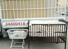 بيع سرير اطفال متكامل مع لوازمه
