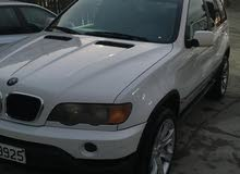 Used condition BMW X5 2002 with +200,000 km mileage