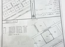 ارض سكنيه في حيل فرق 750 متر مربع حولها بيوت