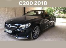 Automatic Black Mercedes Benz 2018 for sale