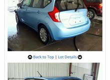 Turquoise Nissan Versa 2015 for sale