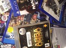 ألعاب PS4 و PS3 و Xbox360
