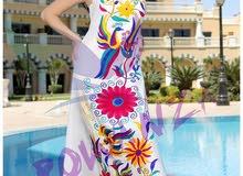 فستان لاجواء الصيف.تطريز جميل