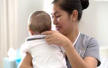 شركه الايمان للخدمات الطبيه المنزليه   تلفون 94150544  بيبي كير رعايه اطفال