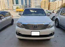 Toyota Fortuner made in 2015 for sale
