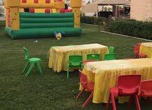 هابي روز لتنظيم الحفلات والالعاب الترفيهيه