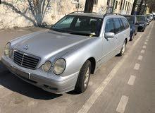 مرسيدس E240 موديل 2001