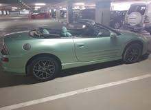 For sale 2003 Green Eclipse