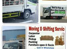 0501192438 Ajman House Shifting movers Rent pickup